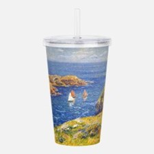 Claude Monet Calm Sea Acrylic Double-wall Tumbler
