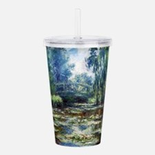 Cute Claude monet Acrylic Double-wall Tumbler