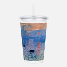 Cool Claude monet Acrylic Double-wall Tumbler