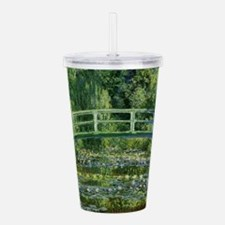 Monet Japanese Bridge Acrylic Double-wall Tumbler