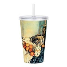 Unique Apple Acrylic Double-wall Tumbler