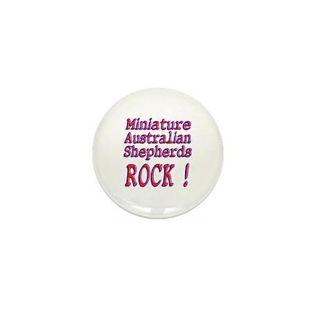 Miniature Australian Shepherds Mini Button (10 pac