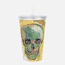 Vincent Van Gogh Skull Acrylic Double-wall Tumbler