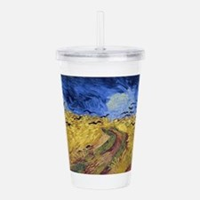 Funny The crow Acrylic Double-wall Tumbler