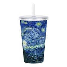 Van Gogh Starry Night Acrylic Double-wall Tumbler