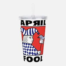April Fool's Day Acrylic Double-wall Tumbler