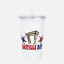Bastille Day Acrylic Double-wall Tumbler