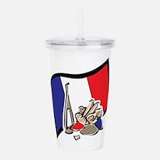 France Bastille Day Acrylic Double-wall Tumbler