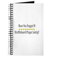 Hugged Shuffleboard Player Journal