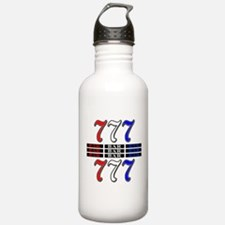 Red, White and Blue Sl Water Bottle