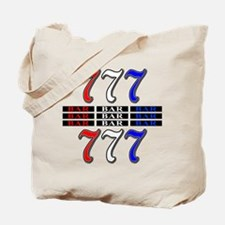 Red, White and Blue Slots Tote Bag
