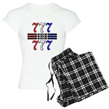 Red, White and Blue Slots Pajamas