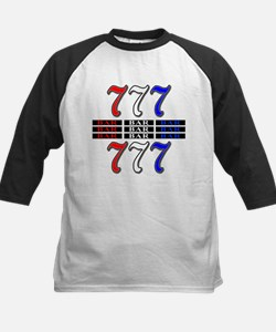 Red, White and Blue Slots Tee