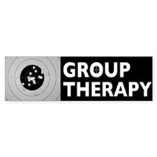 Group Therapy Bumper Sticker