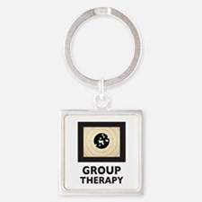 Group Therapy Square Keychain Keychains