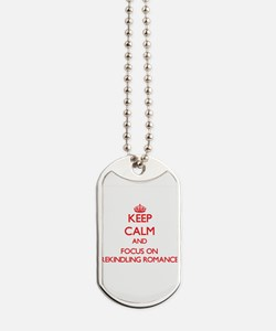 Cute I love lost Dog Tags