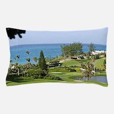 Bermuda. Fairmont Southampton Hotel an Pillow Case