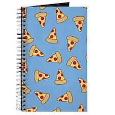 Cute Pizza Pattern Journal