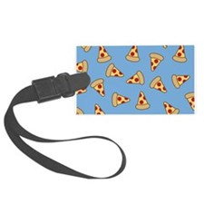 Cute Pizza Pattern Luggage Tag