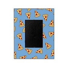 Cute Pizza Pattern Picture Frame