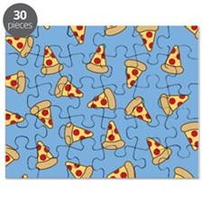 Cute Pizza Pattern Puzzle