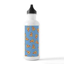 Cute Pizza Pattern Water Bottle