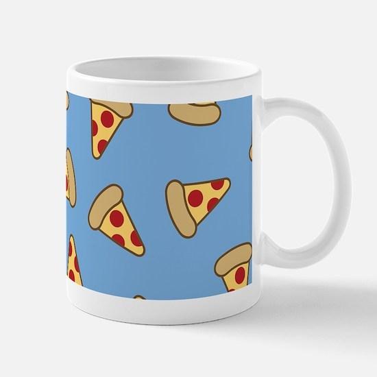 Cute Pizza Pattern Mugs
