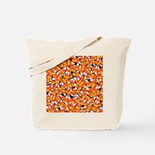Candy Corn Pattern Tote Bag