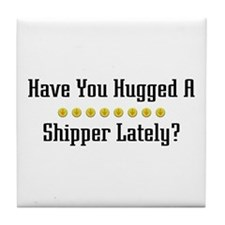 Hugged Shipper Tile Coaster