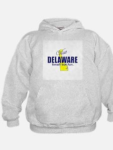 Visit Delaware . . . Small Bu Hoodie