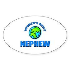 World's Best NEPHEW Oval Decal