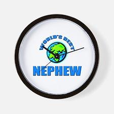 World's Best NEPHEW Wall Clock