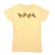 Cute Pizza Slice Girl's Tee