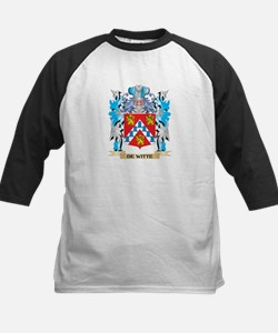 De-Witte Coat of Arms - Family Crest Baseball Jers