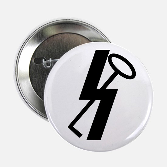 """Cute Division 2.25"""" Button (10 pack)"""