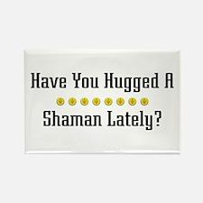 Hugged Shaman Rectangle Magnet