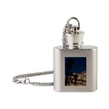 Famous Trevi Fountain with throwing Flask Necklace