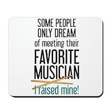 Meeting Musicians Mousepad