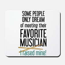 Meeting Musicians Mousepad
