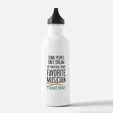 Meeting Musicians Water Bottle