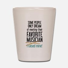 Meeting Musicians Shot Glass