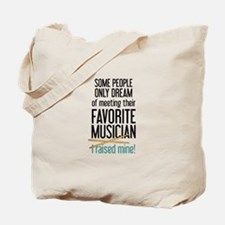 Meeting Musicians Tote Bag