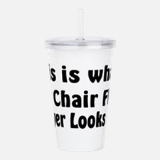 1st Chair Flute Acrylic Double-wall Tumbler