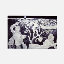 Dionysus/Bacchus and Ariadne on N Rectangle Magnet