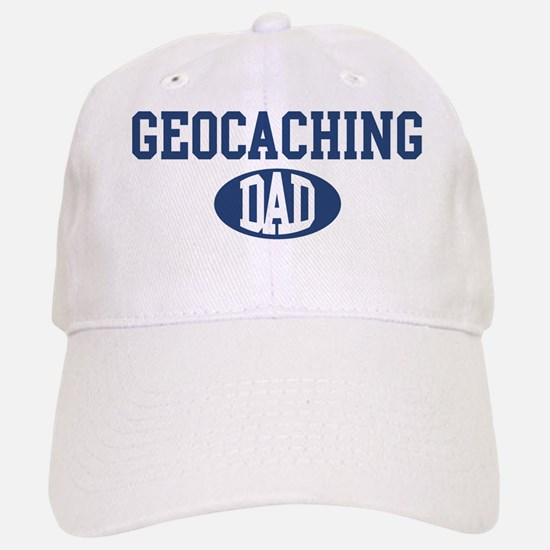 Geocaching dad Baseball Baseball Cap
