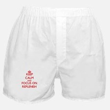 Cute Keep calm and reload Boxer Shorts