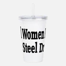 Steel Drum Acrylic Double-wall Tumbler