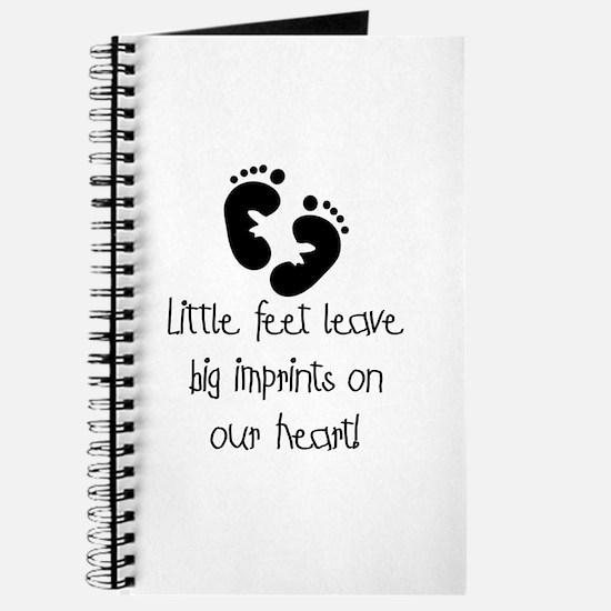 Baby Footprints Journal