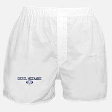 Diesel Mechanic dad Boxer Shorts