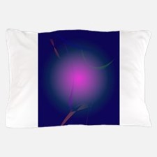 Purple Pink Moon in the Navy Sky Pillow Case